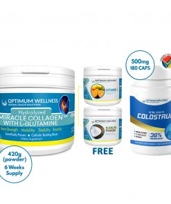 Colostrum Combo with Free Vitamin C & Alkaline
