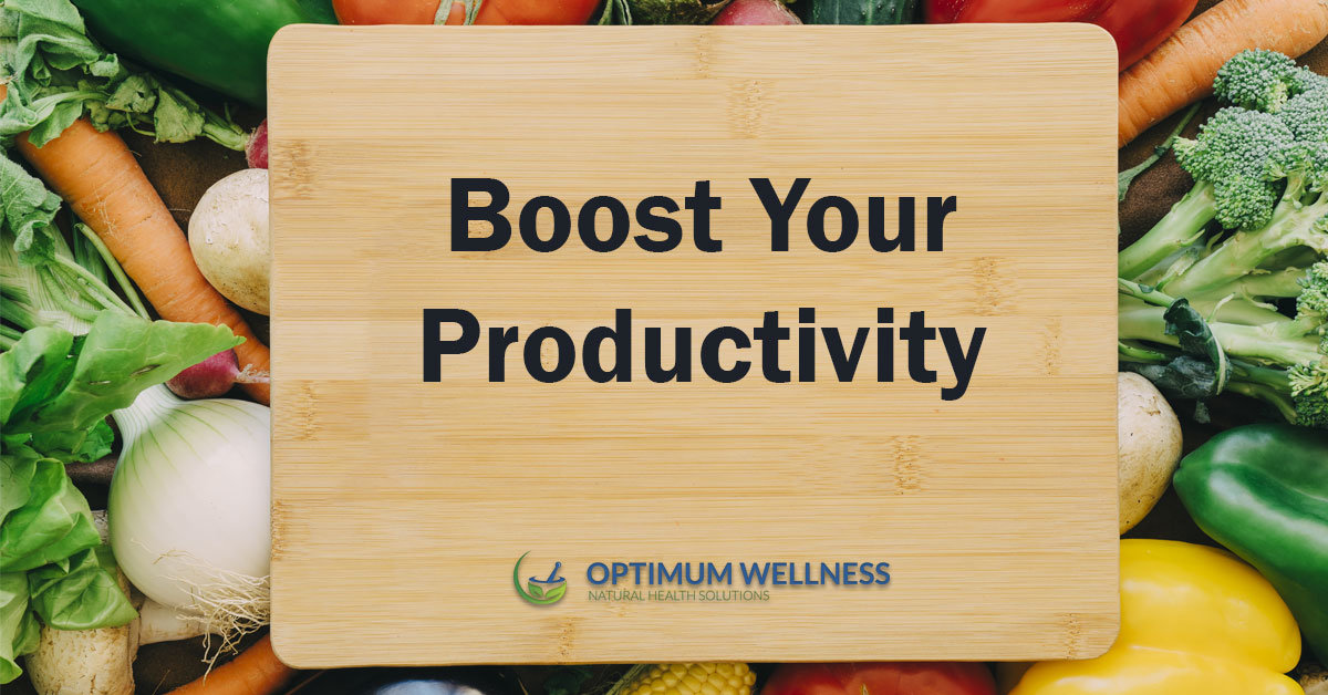 8 Foods that Boots Your Productivity